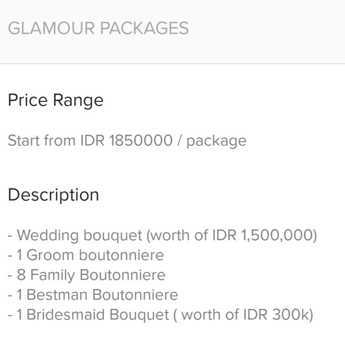 Wedding Pricelist (WA: 081285408526) by Frisch Florist - 001