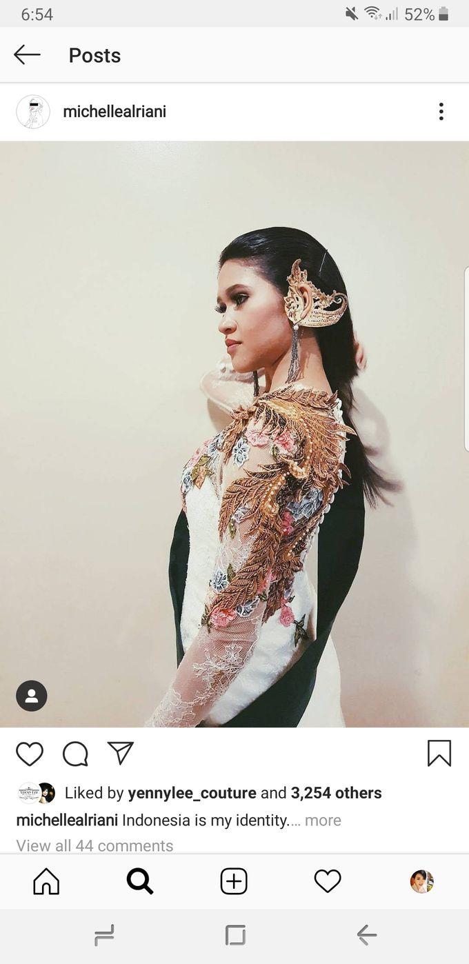 Batik/Kebaya Modern Collections by Yenny Lee Bridal Couture - 005