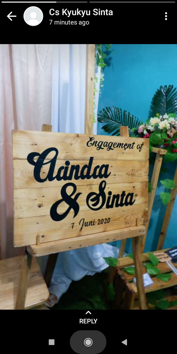 Engagement of Arindra & Sinta by Kyukyu organzier - 002