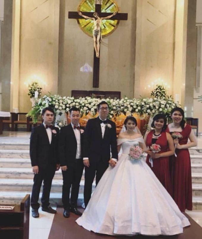 Kevin & Yeyen Wedding by Frisch Florist - 011
