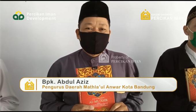 Reporter Wakaf Quran Percikan Iman by Panji Nugraha MC - 008
