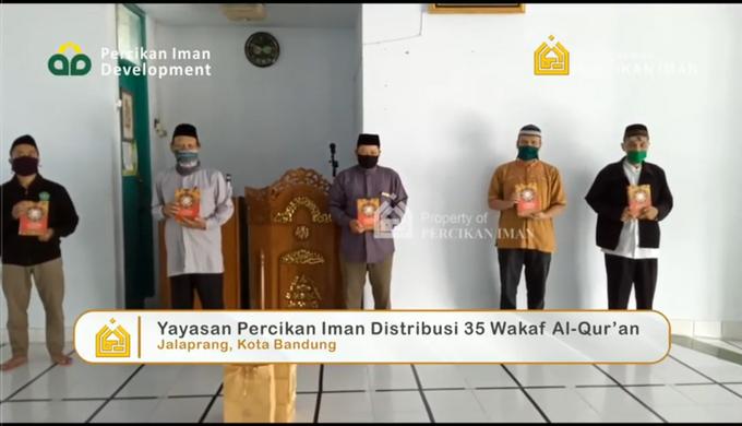 Reporter Wakaf Quran Percikan Iman by Panji Nugraha MC - 009
