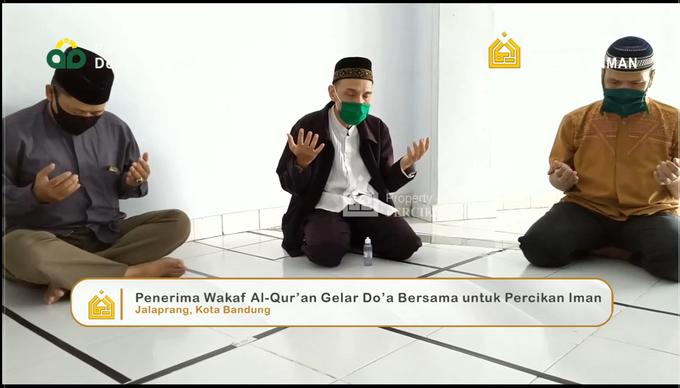 Reporter Wakaf Quran Percikan Iman by Panji Nugraha MC - 011