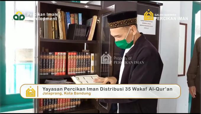 Reporter Wakaf Quran Percikan Iman by Panji Nugraha MC - 012