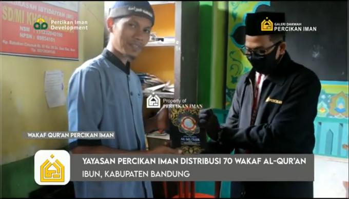 Reporter Wakaf Quran Percikan Iman by Panji Nugraha MC - 016
