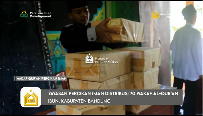 Reporter Wakaf Quran Percikan Iman by Panji Nugraha MC - 017
