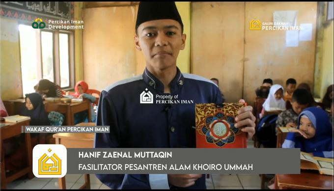 Reporter Wakaf Quran Percikan Iman by Panji Nugraha MC - 018