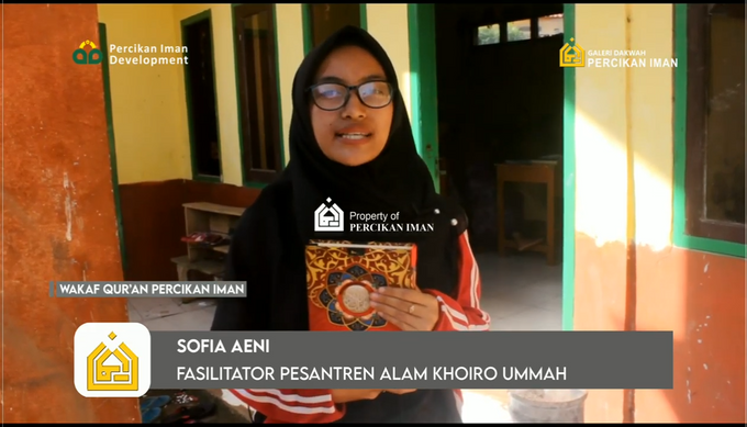 Reporter Wakaf Quran Percikan Iman by Panji Nugraha MC - 019