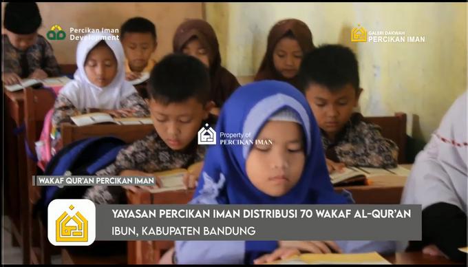 Reporter Wakaf Quran Percikan Iman by Panji Nugraha MC - 020