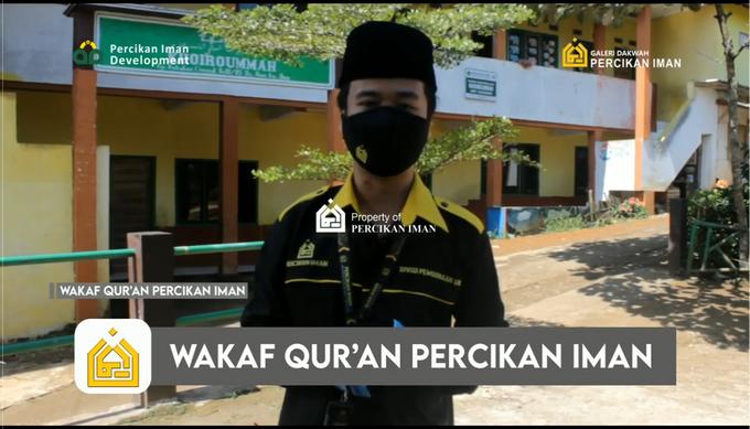 Reporter Wakaf Quran Percikan Iman by Panji Nugraha MC - 001
