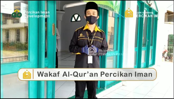 Reporter Wakaf Quran Percikan Iman by Panji Nugraha MC - 013