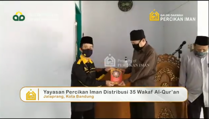 Reporter Wakaf Quran Percikan Iman by Panji Nugraha MC - 014