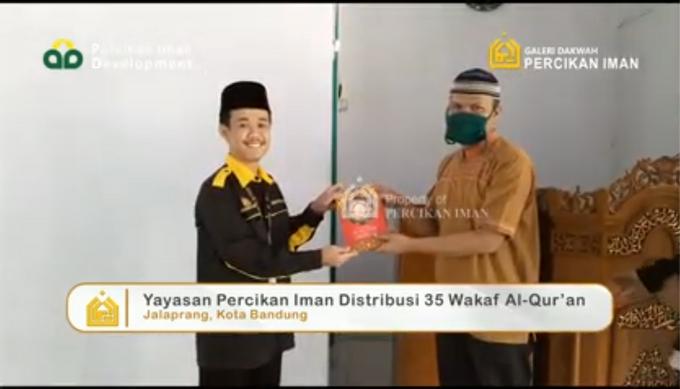 Reporter Wakaf Quran Percikan Iman by Panji Nugraha MC - 015