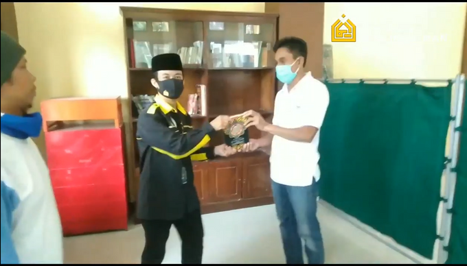 Reporter Wakaf Quran Percikan Iman by Panji Nugraha MC - 007