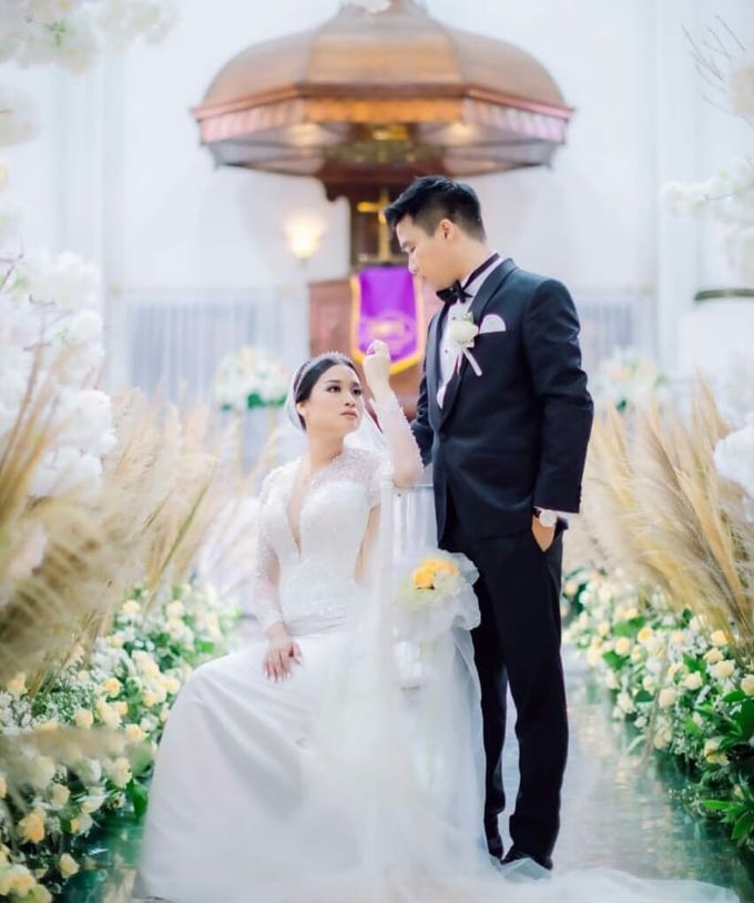 Mr. Dion & Mrs. Rhea Wedding by Ventlee Groom Centre - 002