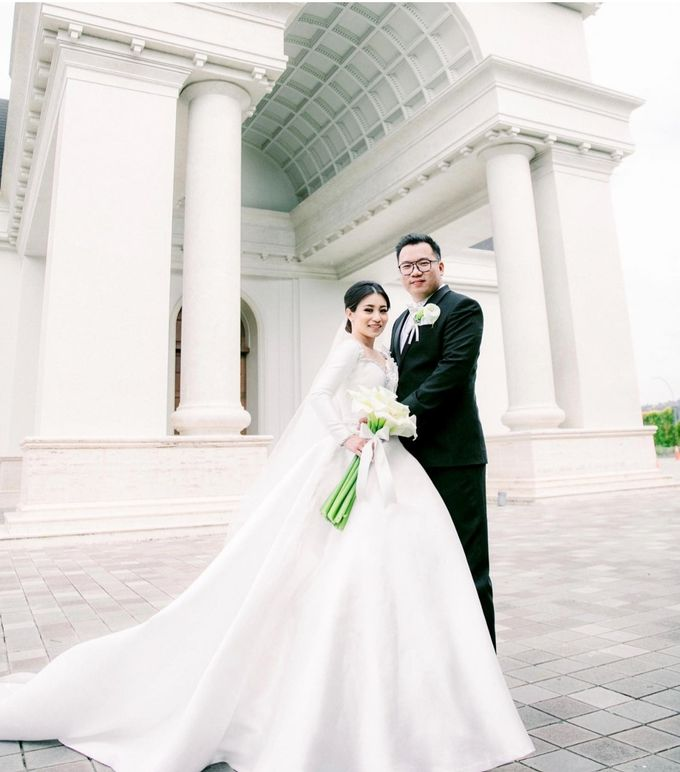 Mr. Christian & Mrs. Juventia Wedding by Ventlee Groom Centre - 008