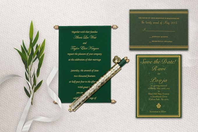Flat 40 Percent of On Invitatons by IndianWeddingCards - 005