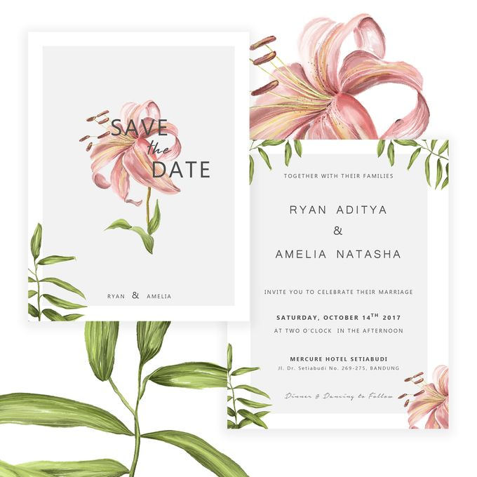 Botanical Wedding Invitation by Tokoku - 003