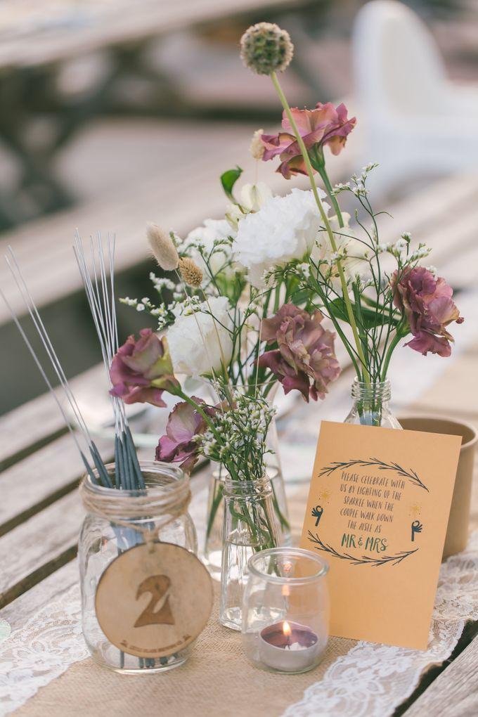 Little Island Brewing Co Wedding Day Photography by LITTLE ISLAND BREWING CO. - 012