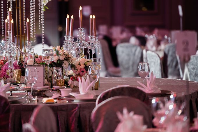 Sean & Mayyun    Elegant crystal in pastel champagne by Blissmoment - 005