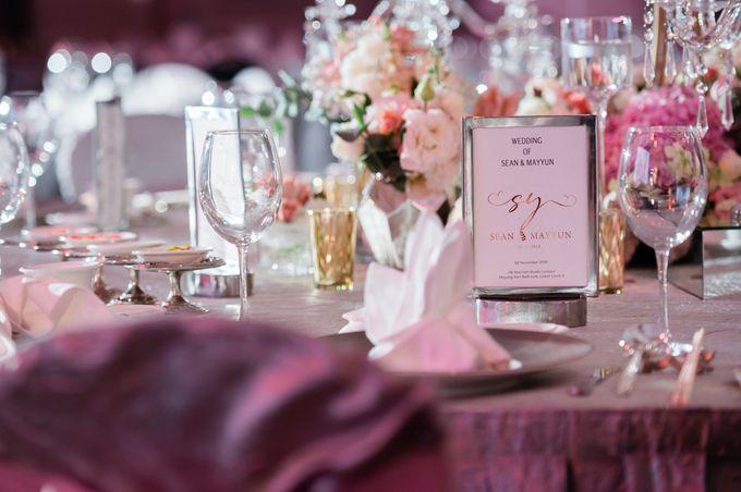 Sean & Mayyun    Elegant crystal in pastel champagne by Blissmoment - 006