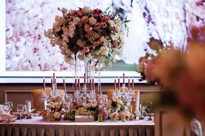 Sean & Mayyun    Elegant crystal in pastel champagne by Blissmoment - 008