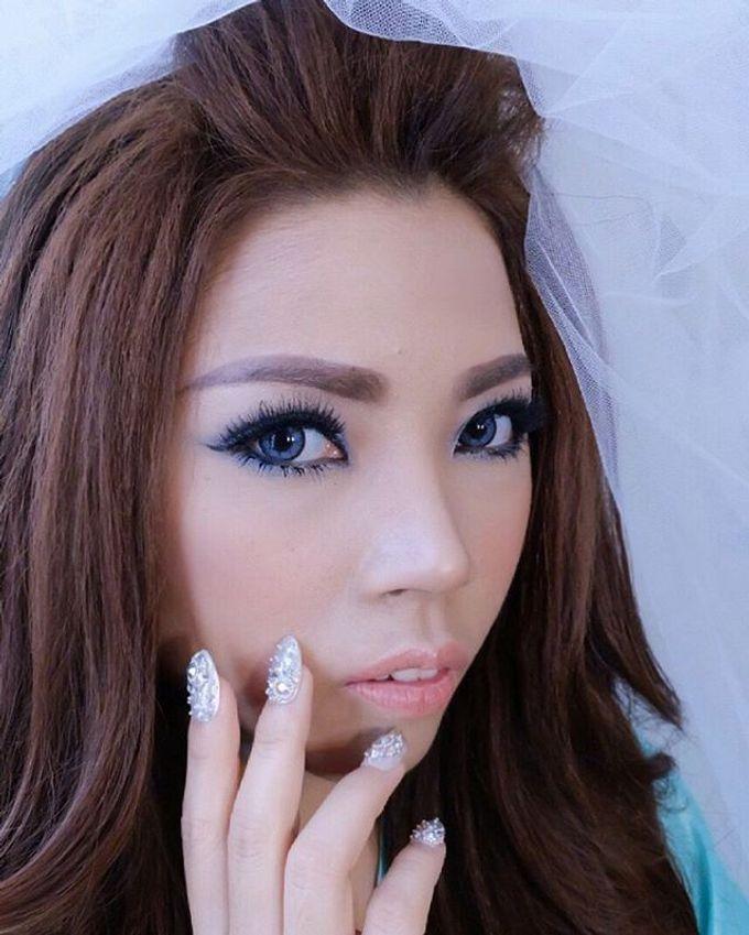 wedding makeup by ShenLeo Makeup - 004