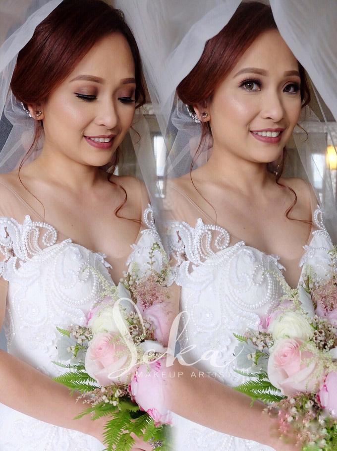 Bride Amelia by SEKA Makeup Artist - 002