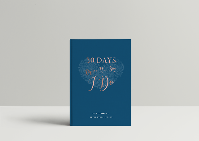 Thirty Days Before We Say I Do by Selah Creations - 001