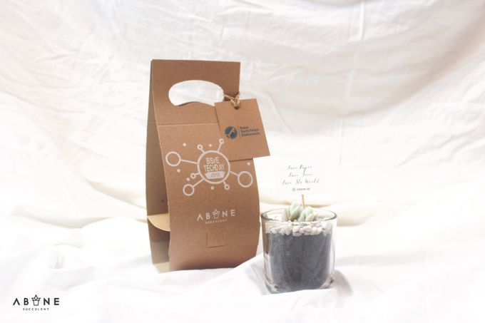 Souvenir for BSrE Techday 2018 by ABANE Succulent - 005