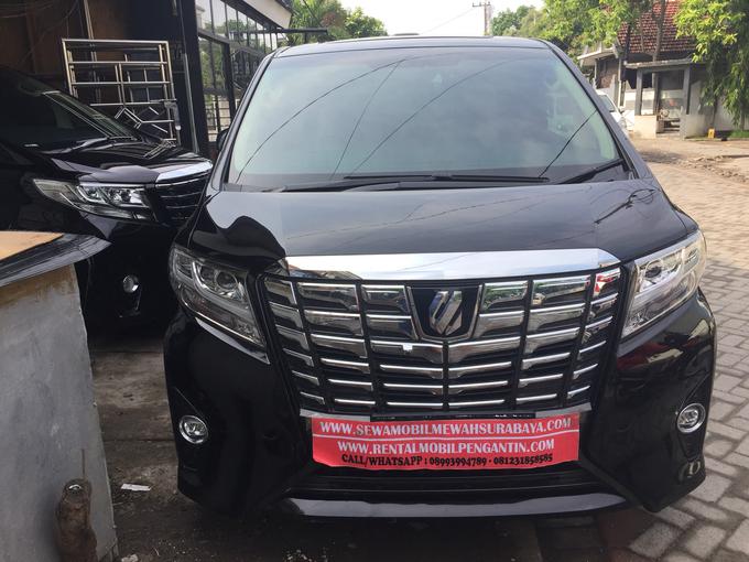 Rent Mobil Alphard Surabaya, Sewa Alphard Surabaya by SENTOSA JAYA VIP WEDDING CARS SURABAYA - 010