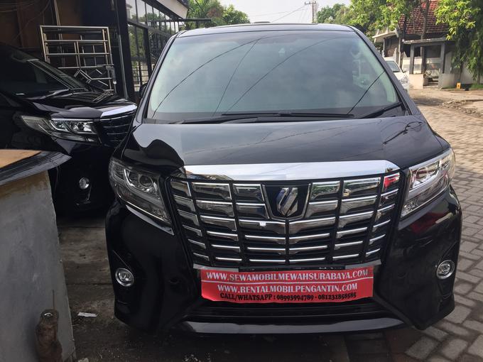 Sewa Alphard Surabaya DAN Rental Alphard Surabaya by SENTOSA JAYA VIP WEDDING CARS SURABAYA - 001