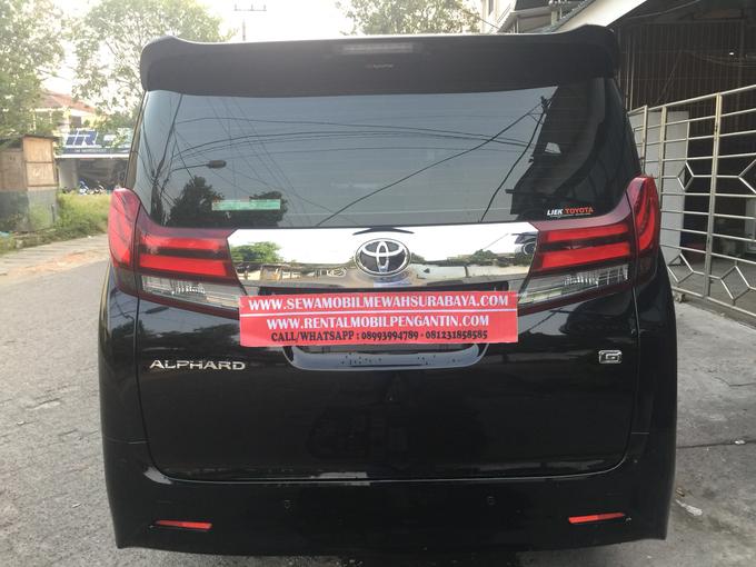 Sewa Alphard Surabaya DAN Rental Alphard Surabaya by SENTOSA JAYA VIP WEDDING CARS SURABAYA - 011