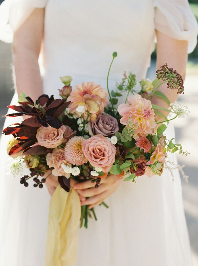 Fall Wedding Inspiration at Deoksugung by Honour and Blessing Events - 008