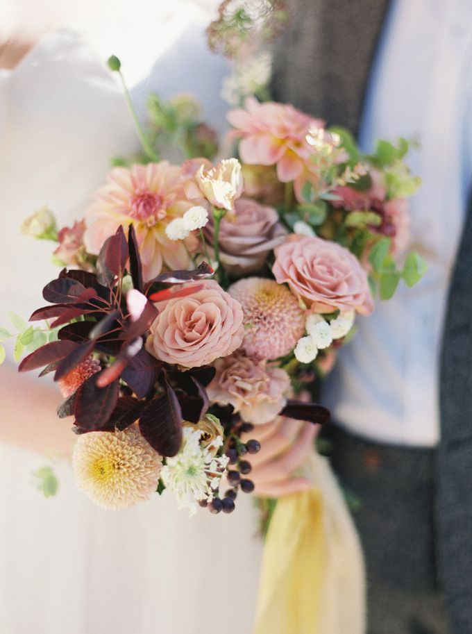 Fall Wedding Inspiration at Deoksugung by Honour and Blessing Events - 017