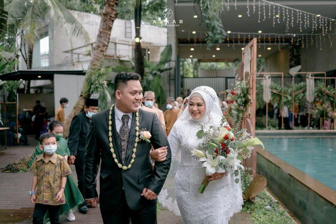 Wedding Tia & Ilham by Azila Villa - 011