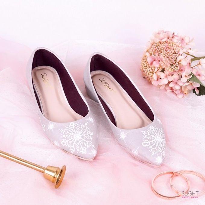 Sepatu Flats Lukis Frosty Silver by SLIGHTshop.com - 002