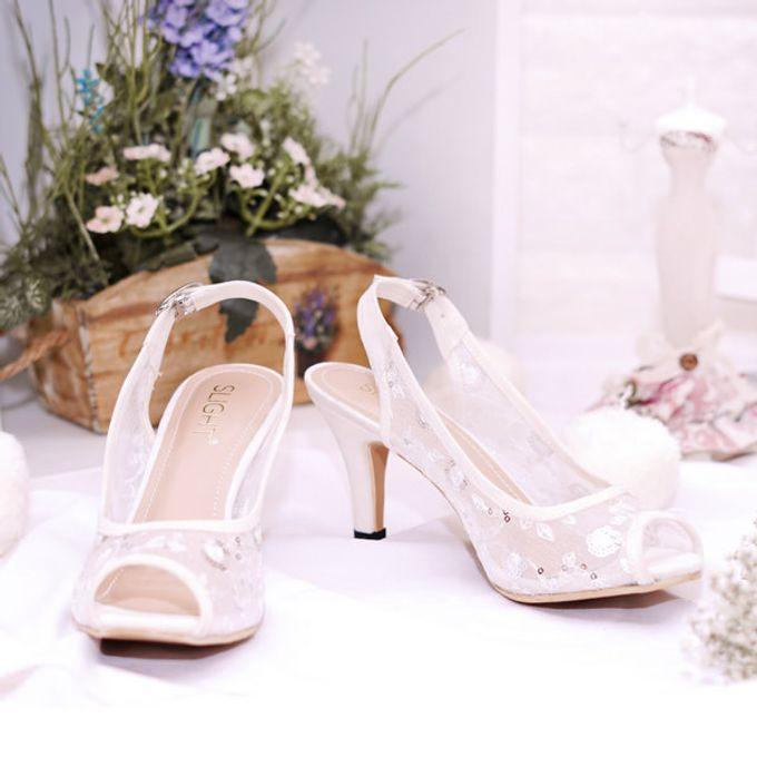 Sepatu Wedding Readystok Slingback Lucia by SLIGHTshop.com - 007