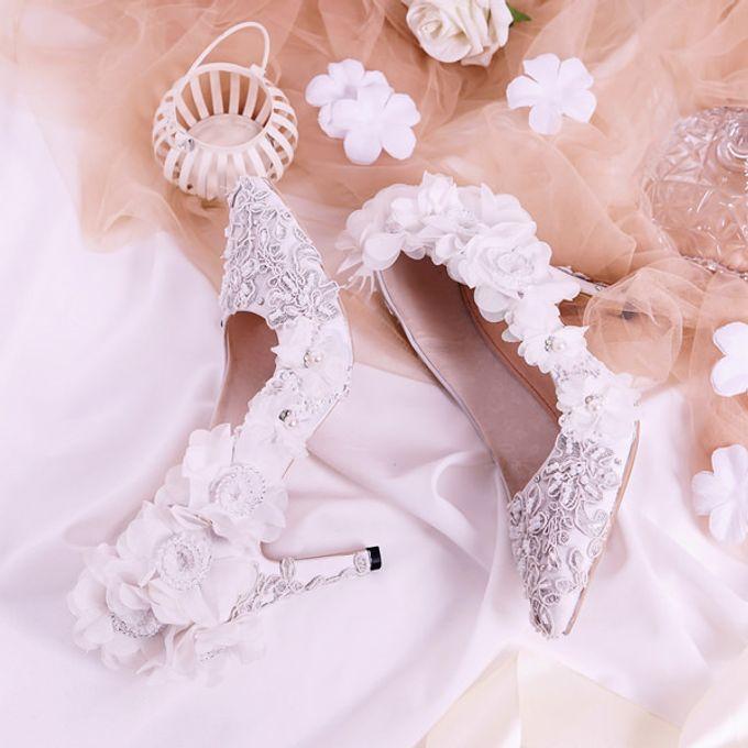 Sepatu Pointed Viola Putih by SLIGHTshop.com - 003