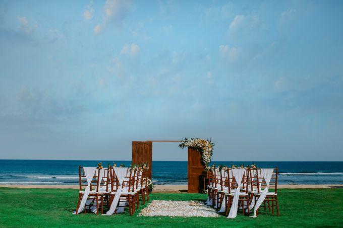 Wiwaha Beach Wedding by Hilton Bali Resort - 006