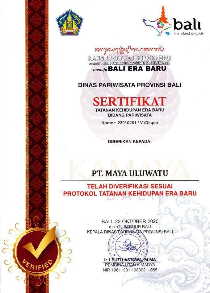 Certified New Normal by KAMAYA BALI - 001