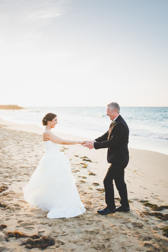 Romantic destination wedding on the beach by Weddings by AMR - 001