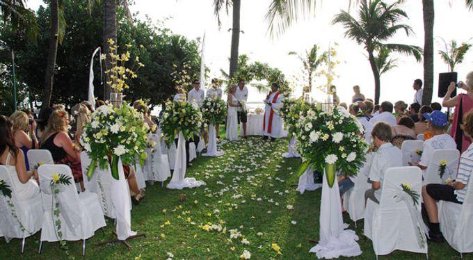 Bali Mandira Wedding by Bali Mandira Beach Resort & Spa - 006