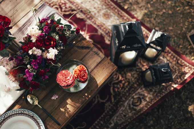 Bohemian Romance in the Woods by Le Conte Decor - 034