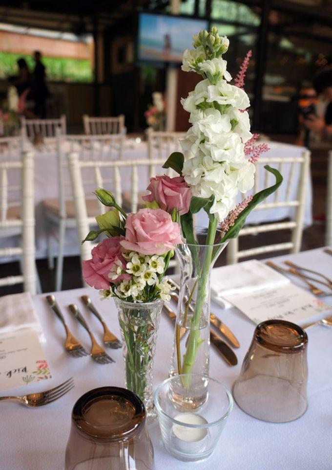Wedding at Nosh Restaurant by The Olive 3 (S) Pte Ltd - 005
