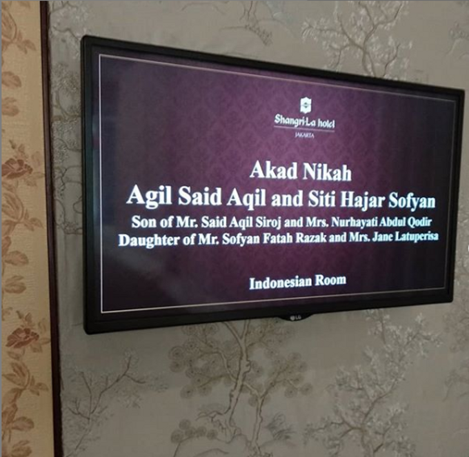 Wedding Agil Said Aqil & Siti Hajar Sofyan by Handy Talky Rental bbcom - 004