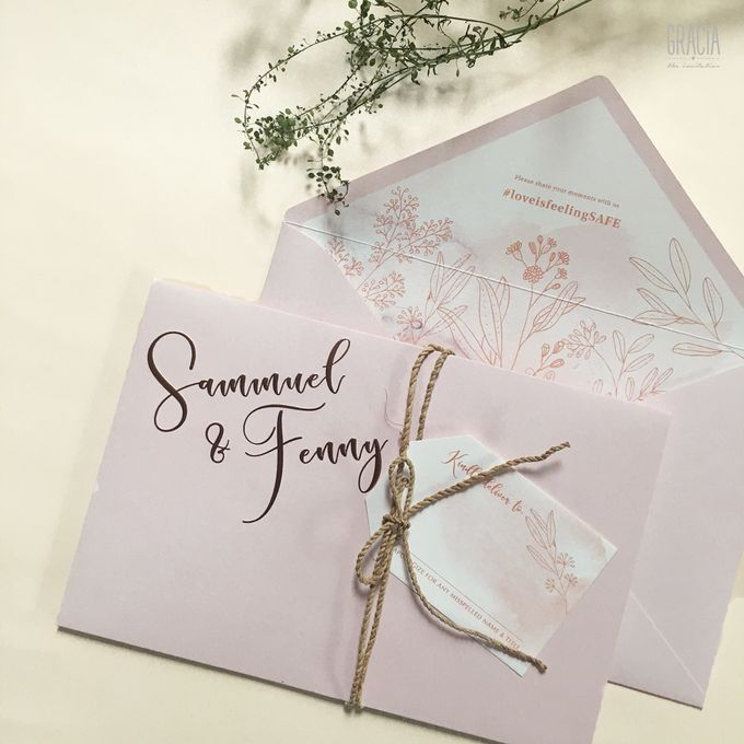 Samuel & Fenny by Gracia The Invitation - 002