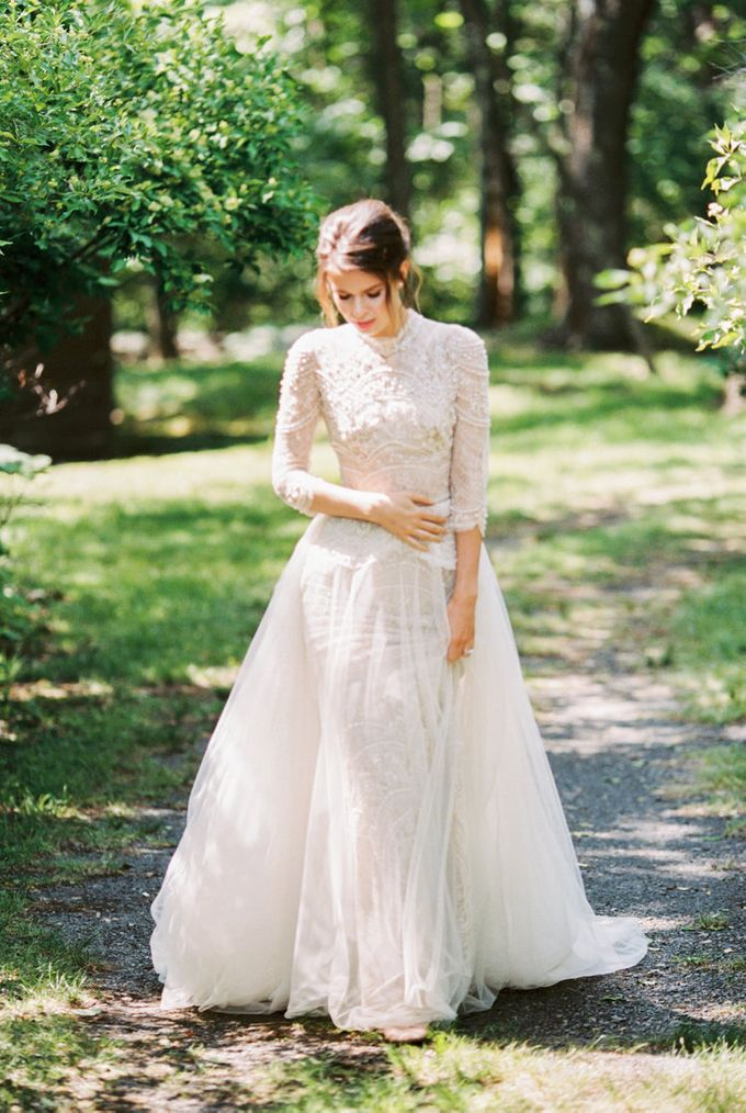 Cedar Lake Wedding by Through The Veil - 005