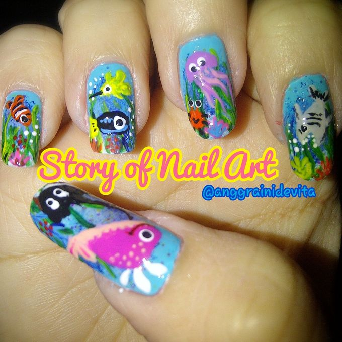 Painting Nails by Story of Nailart - 015