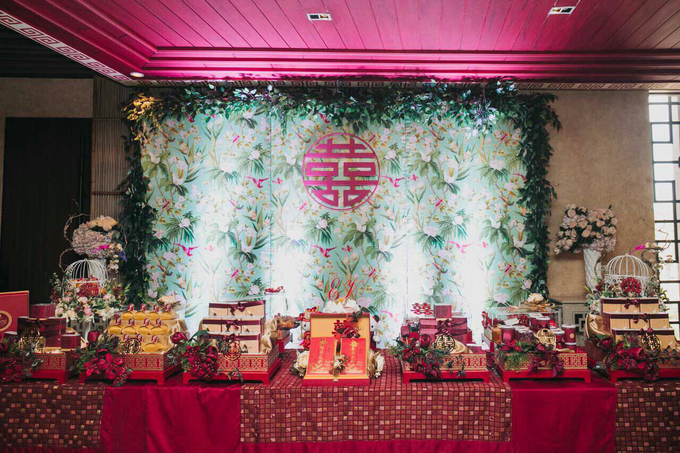 Vicky & Evelin Engagement by SH Printing and Hampers - 002